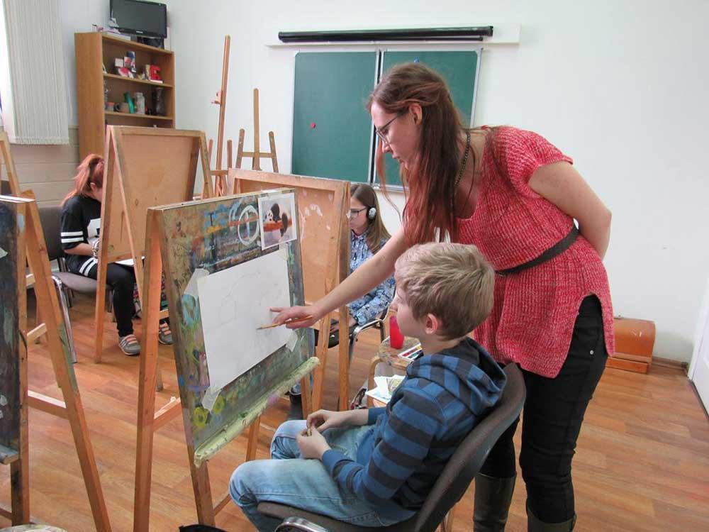 Школа рисования для детей в картинках
