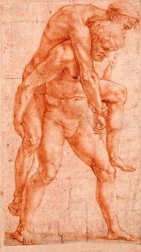 акварельный рисунок гений искусства брюллов темпы каменного строительства