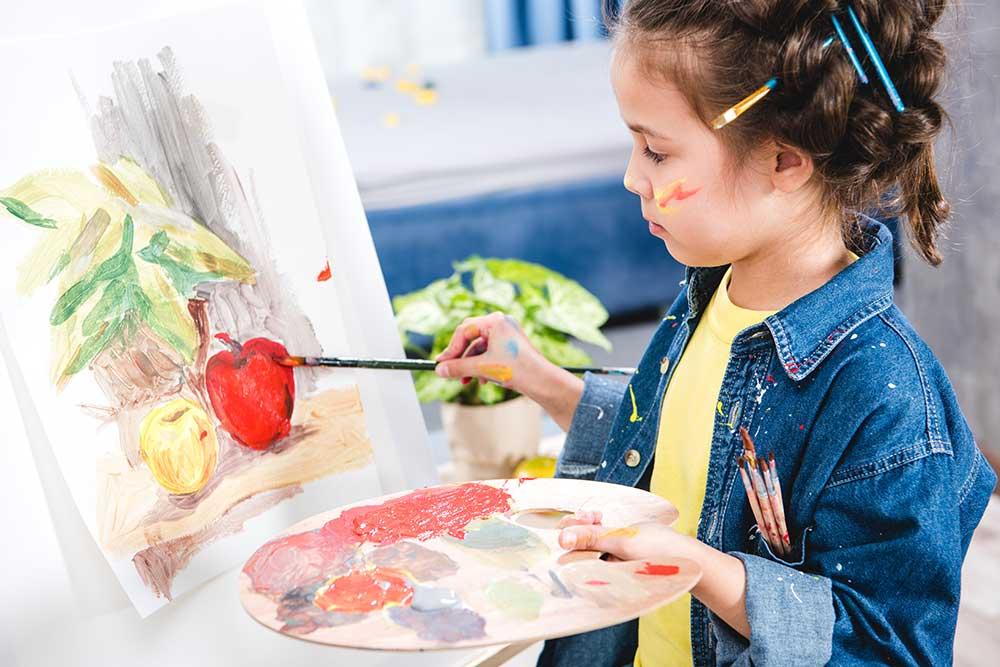 """Результат пошуку зображень за запитом """"дети занимаются живописью"""""""
