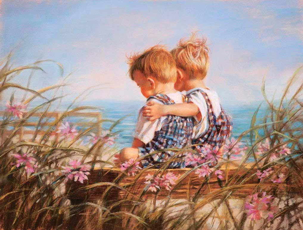 Открытки детская дружба
