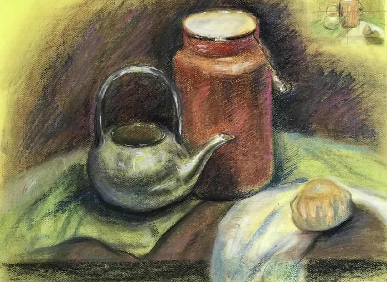 картинки пастелью для чайников современные инструменты